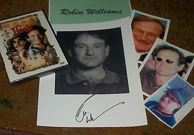 ROBIN WILLIAMS Autographed Photo & Photos - Very Unique Reprint
