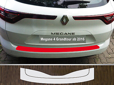 bumper strip protective film clear Renault Megane 4 Grandtour,from 16