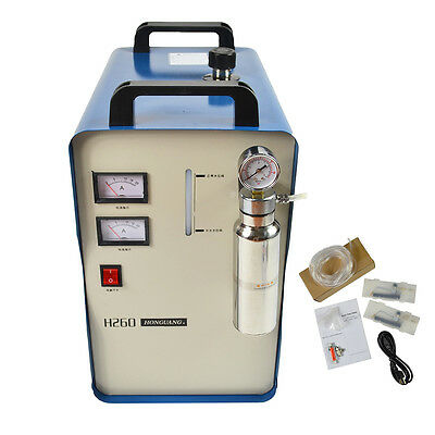 Oxygen-Hydrogen Water Welder Flame Acrylic Polishing Machine Polisher 150L/h