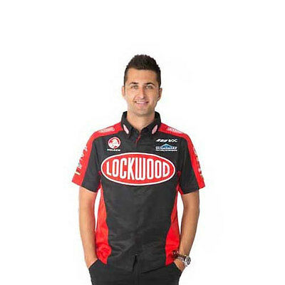 Lockwood Racing Holden Mens Team Dress Shirt V8Supercars Size S & 3Xl Only