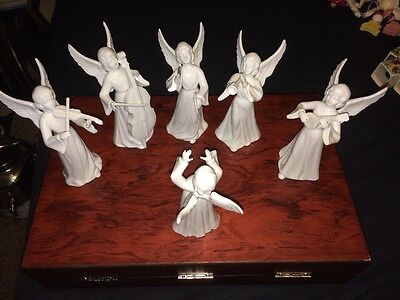 Set of 6 Vintage SCHMID BROS Band Angels