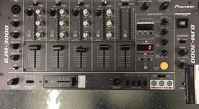Pioneer DJ DJM-3000 Share 4-channel 19-inch rack mountable mixer