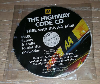 AA Highway Code cd