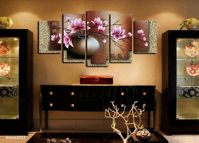 5 pieces Large canvas no frame Modern Abstract Art Oil Painting Wall Art Decor