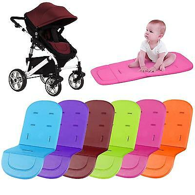 Popular Washable Soft Stroller Pushchair Car Seat Padding Pram Liner Pad Cushion