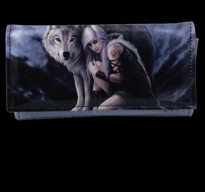 PROTECTOR wolf wolves PURSE wallet bag giftware ANNE STOKES