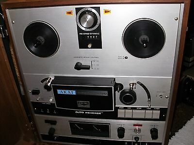 Akai Gx-365D Stereo Auto Reverse Reel To Reel Tape Deck