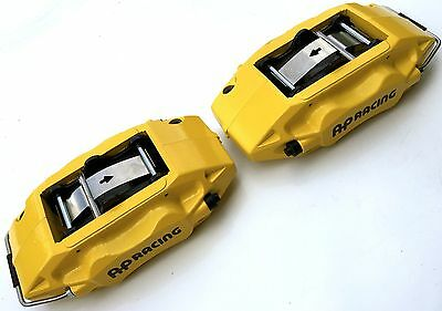 Genuine Lotus Exige V6 AP Racing 4 Pot Piston Yellow Brake Calipers Elise VX220
