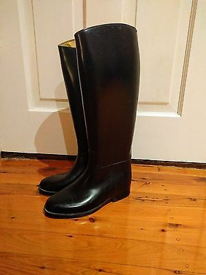 Stylo Black Riding Boots Size 4