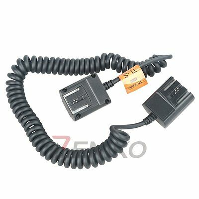 Godox 3M Off Camera Flash Speedlite TTL Hot Shoe Sync Cable Cord for Sony Camera
