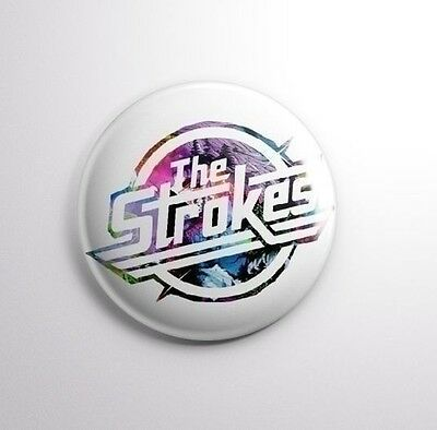 THE STROKES -  Pinbacks Badge Button 25mm 1'' -..