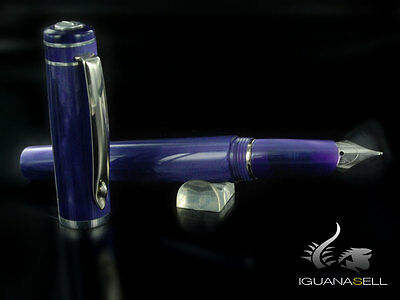 Marlen Vanity New Fountain Pen, Purple, Special edition, M12-116-MO, M