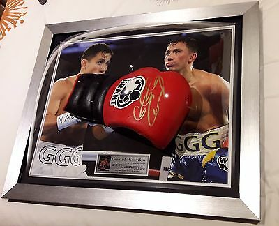 Hand Signed Gennady Golovkin Large Grant Boxing Glove