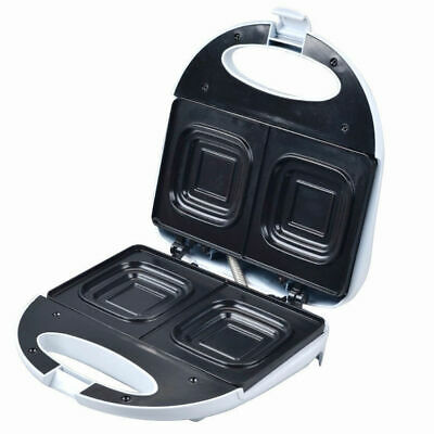 Maxim Deep Dish Sandwich Maker Top And Bottom Non Stick Toasting Plates