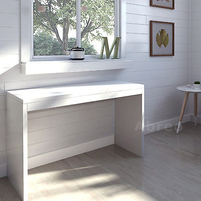 White High Gloss Console Table Dressing Table Bedroom Hallway Home Furniture