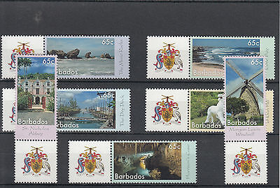 Barbados 2014 MNH Wonders of Barbados 7v St Morgan Lewis Windmills Docks Stamps