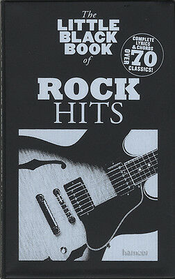 The Little Black Book of Rock Hits Guitar Chord Songbook Def Leppard Free ZZ Top