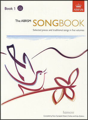 The ABRSM Songbook 1 Vocal Music Book/2CDs Selected Pieces & Traditional Songs