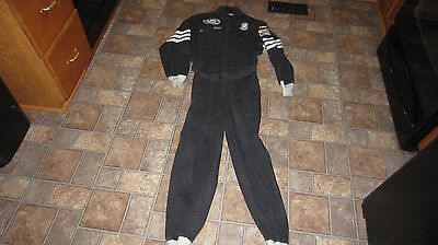 Simpson Single Layer Firesuit 3-2A/1 Black Nascar Racing Uniform Driver Crew XL