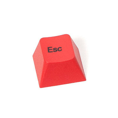 Leopold Keycap Esc PBT Red for Cherry MX  Mechanical Keyboard Dye-Sublimated top