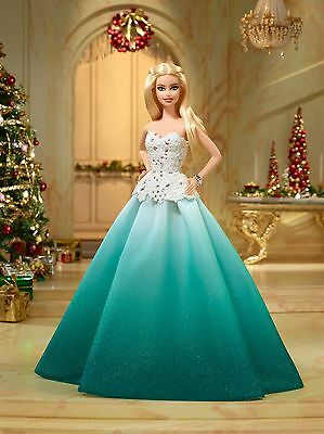 Hallmark Mattel 2016 Holiday Barbie DOLL COLLECTIBLE @4FreeShipping NEW