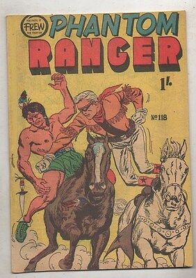 THE PHANTOM RANGER No 118    VF/ N MINT   CONDITION