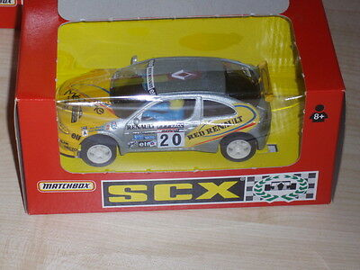 Scx Renault Megane Costa Brava Silver/red Red Renault Livery No 20 Ref 83280.20