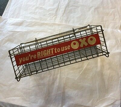 Vintage Oxo Advertising Merchandise Shop Tray