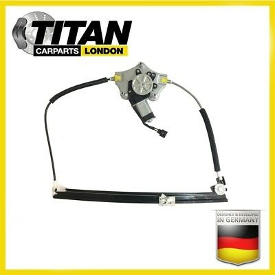 Electric Window Regulator For 2 Door Renault Clio With Motor Front Right Side