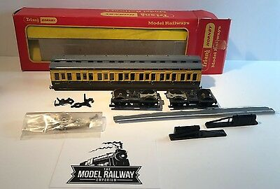 Hornby - R332 - GWR COMPOSITE COACH CLERESTORY ROOF - BOXED - PART BUILT LOOK