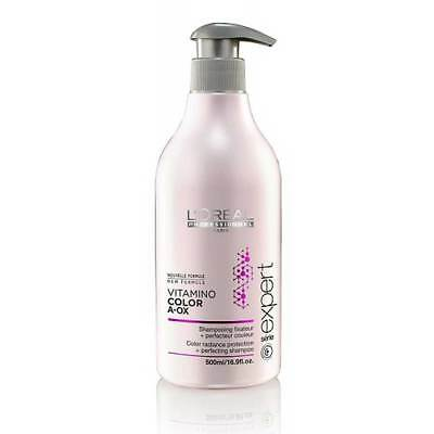 Loreal Serie Expert Vitamino Color A.OX Shampoo Mit Spender, 500ml