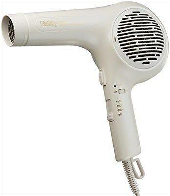 Negative Ion Hair Dryer Nb3000 White Nobby Made in Japan 100V New with Tracking