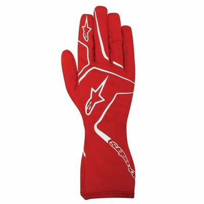 ALPINESTARS child karting gloves kid TECH 1-K RACE S youth RED