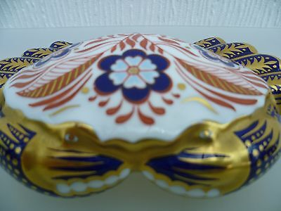 Royal Crown Derby Paperweight Crab