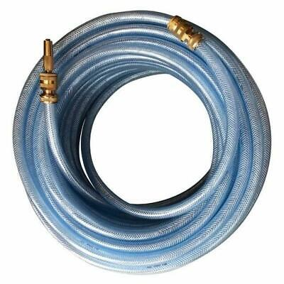 "Water Garden Hose 18MM-3/4""Light Weight High Pressure 50M Brass Fittings Nozzle"