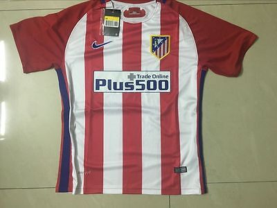 New Atletico Madrid Home soccer Jersey 2016 / 2017 football shirt
