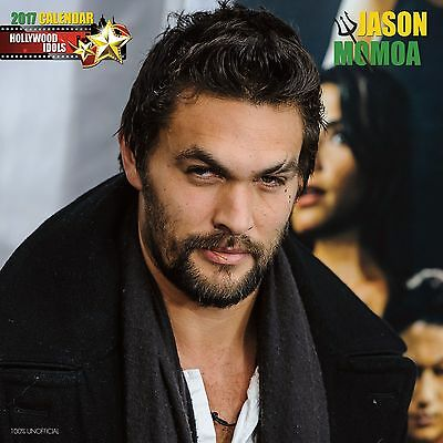 Jason Momoa (Game of Thrones) Calendar 2017 with free pull out poster