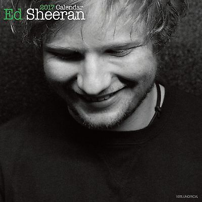 Ed Sheeran premium Calendar 2017 with free pull out poster