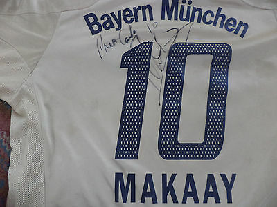 Football Jersey Original  Bayern Munchen Signed Roy Makaay With Patch Bundesliga