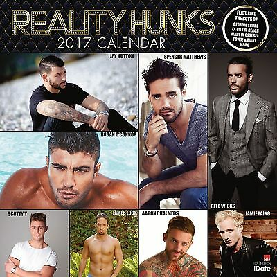 Reality Hunks Calendar 2017 with free pull out poster