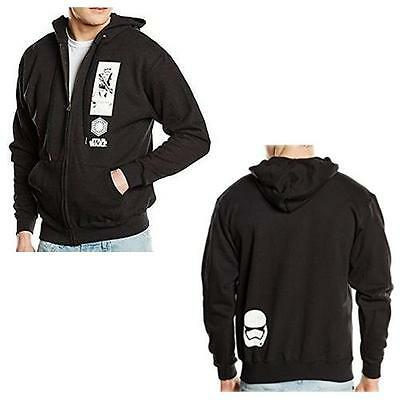 Star Wars - First Order Stormtrooper Zip Up Hoody - New & Official Lucasfilm