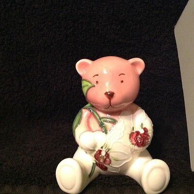 Old Tupton Ware Morning Orchid Teddy