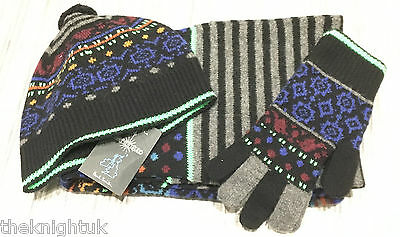 Paul Smith hat, scarf and glove set - Made in Scotland