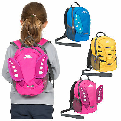 Trespass Tiddler Boys & Girls Toddlers Safety Rein Small Cute Nursery Backpack