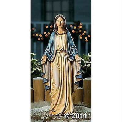 Large Blessed Virgin Madonna Mary Figurine Statue 19.5 Inches Tall NEW
