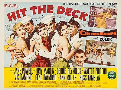 """Hit the Deck 16"""" x 12"""" Reproduction Movie Poster Photograph"""