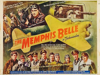 "Memphis Belle 16"" x 12"" Reproduction Movie Poster Photograph"