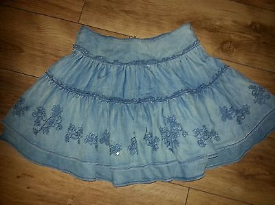 NEXT Girls Jeans Skirt Size 11 yrs 146 cm rrp 28.00 vgc Next day post!