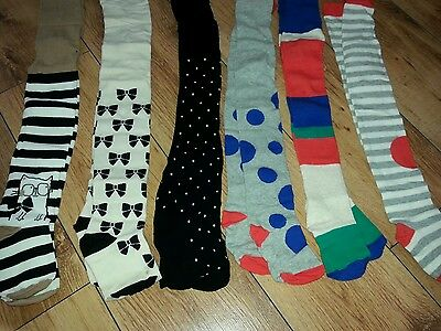 BNWT NEXT Tights Size 3-4 YRS 6 pair very soft  new with tag next day post!!!!