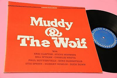 Muddy Waters Lp And The Wolf Canada 1984 Ex+ Gatefold Cover Top Blues Jazz